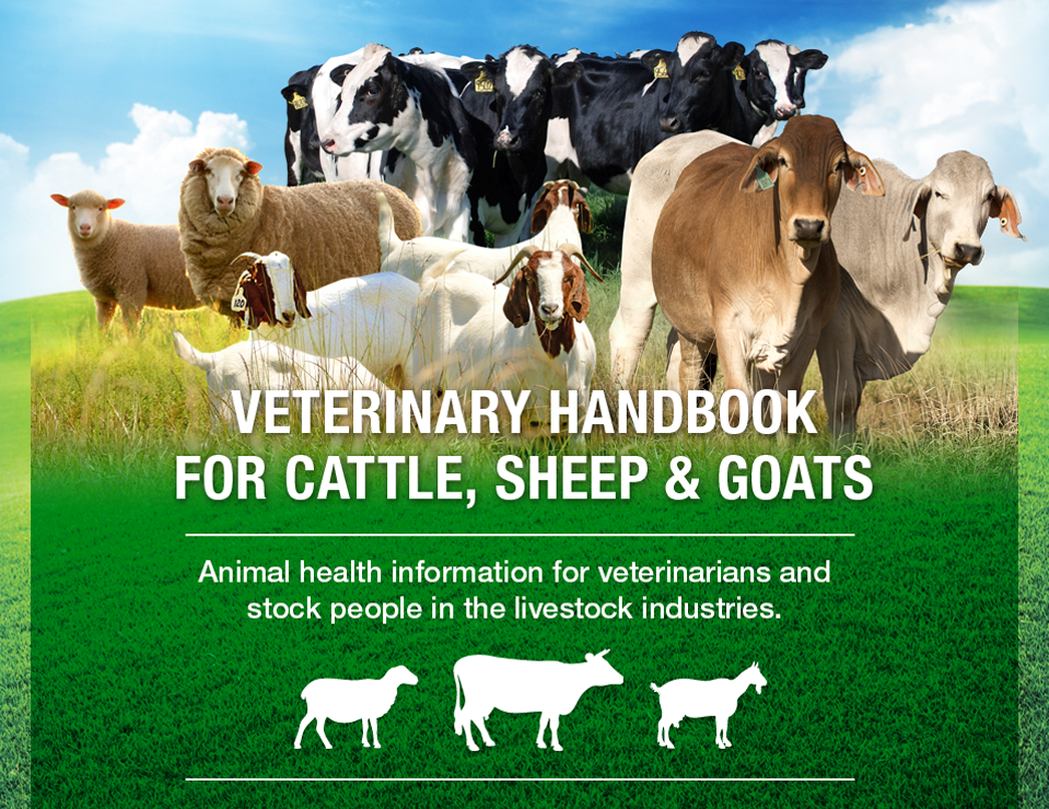 Veterinary Handbook for cattle, Sheep & Goats